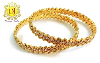 Beautiful CZ studded bangles