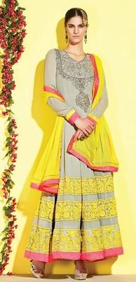 Awesome Designer Long Aanarkali Suit