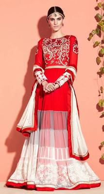 Designer Long Designer Aanarkali Suits