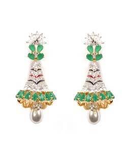 bell shaped jumki earring