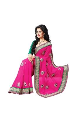 Nazraana-Simple party wear saree