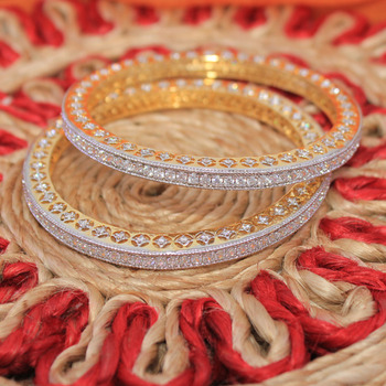 Sparkling cz bangles