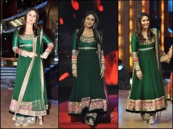 Kareena Green Suit