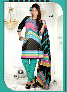 DIGITAL PRINTED ATTRACTIVE DESIGNER COTTON SALWAR KAMEEZ