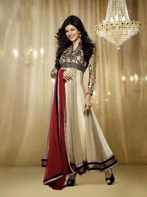 Sushmits Sen Dazzling Multi Color Embroidery Salwar Kameez