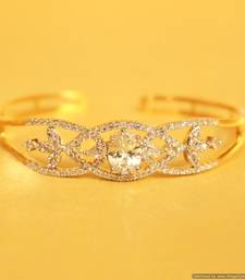 Buy Diamond Look Cuff Bracelet 2.2 , 2.4 Bracelet online