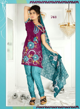 FORMAL WEAR DESIGNER COTTON PRINTED SALWAR KAMEEZ