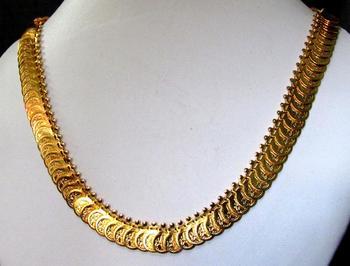 Laxmi coin nice necklace