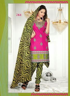 Casual Wear Pure Cotton Unstitched Salwar Kameez