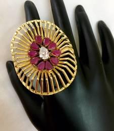 Buy Indowestern finger ring for women wedding-ring online