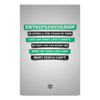 Entrepreneurship Quote Poster