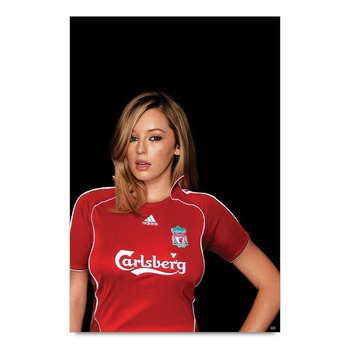 Liverpool Girl Poster