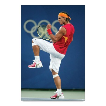 Rafael Nadal Action Poster