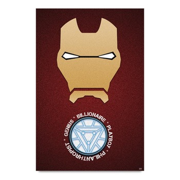 Genius Iron Man Poster