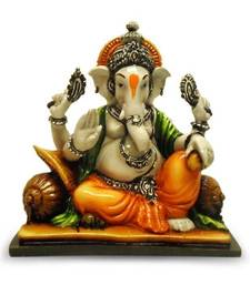 Ganesha Resting on Pillow