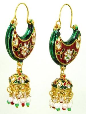 Designer bali earrings