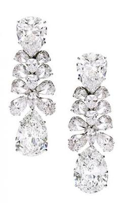 Cara sterling silver and certified Swarovski stone studded  My Brilliance Silver earrings for Women