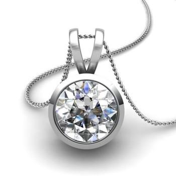 Cara Silver and Swarovski Stone pendant
