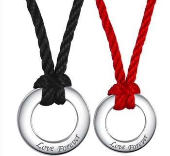 Cara sterling silver and  certified Swarovski stone Us Couple pendants
