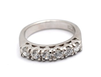 Cara Arc Studs Sterling Silver Ring for Women