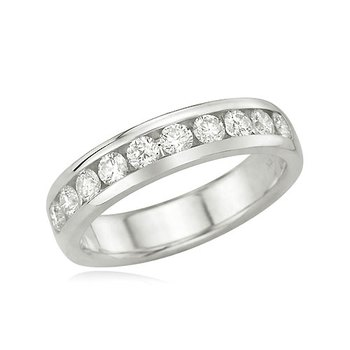 Cara  sterling silver and  certified Swarovski stone Silver ring with Round studs for Men