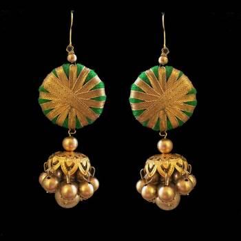 Green Gota Jewellery  Jhumka