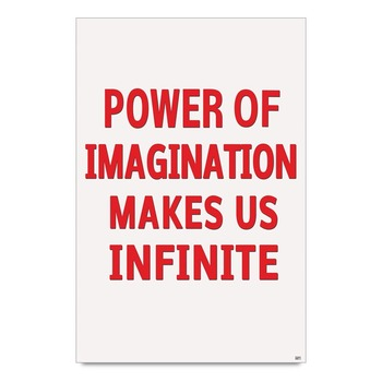 Imagination - Motivational Quote Poster