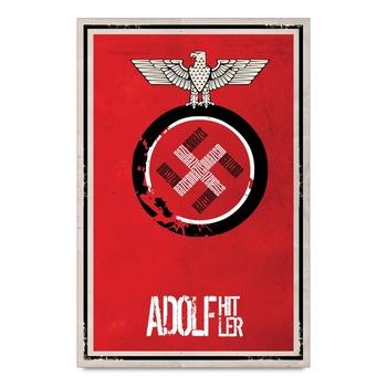 Adolf Hitler Symbol Poster