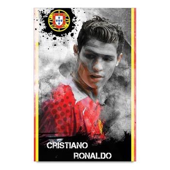 Cristiano Ronaldo Artistic Poster
