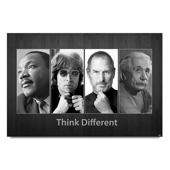 Think Different Apple Poster