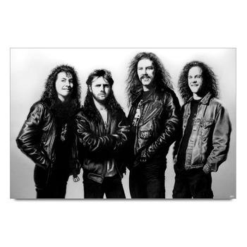 Metallica Band Poster