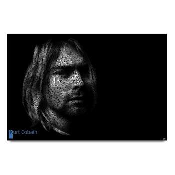 Kurt Cobain Typography Poster