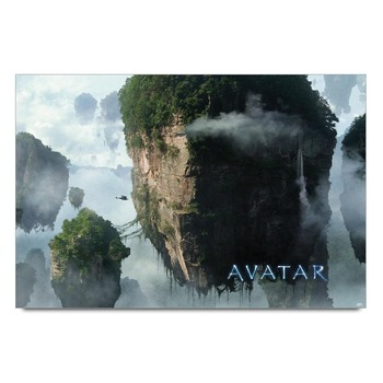 Avatar Scenic Mountains Poster
