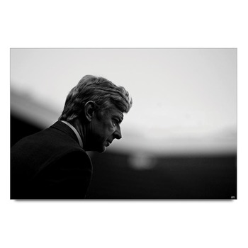 Arsene Wenger Football Legend Poster