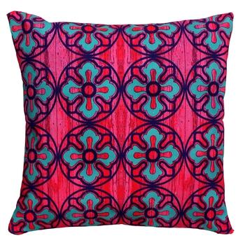 Sublime flower motif cushion cover