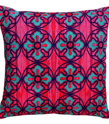 Buy Sublime flower motif cushion cover pillow-cover online
