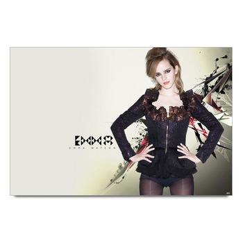 Emma Watson In Black Poster
