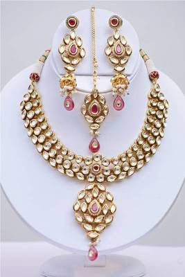 Kundan Heavy Necklace Set