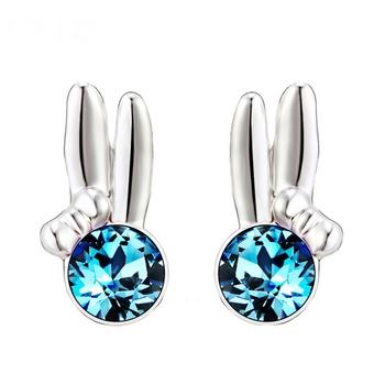 Dealtz Fashion Blue Stone Earrings