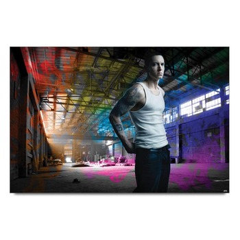 Eminem Colors Poster