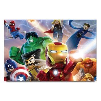 Lego Avengers Team Poster