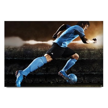 Lionel Messi Football Poster