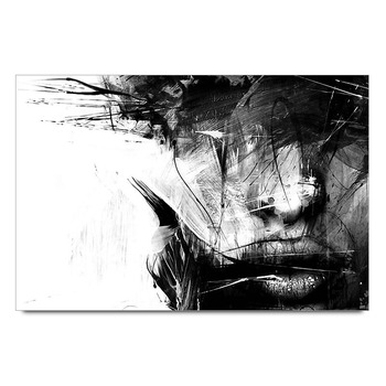 Charcoal Painting Poster