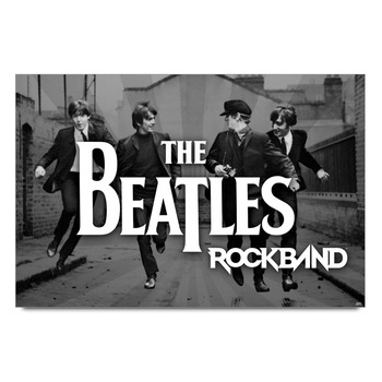 The Beatles Rockband Poster