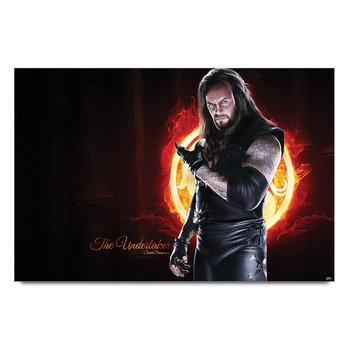 The Undertaker Wwe Poster