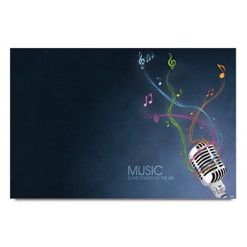 Music Poetry Poster