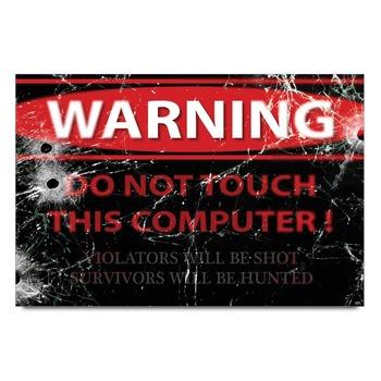Warning Symbol Poster