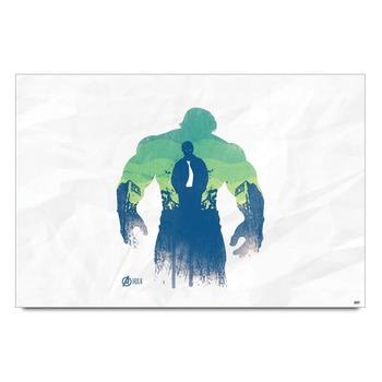 Hulk Transformation Avengers Poster