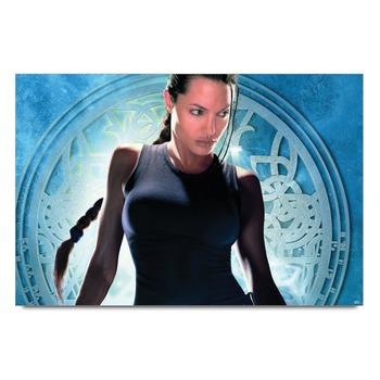 Angelina Jolie Tomb Raider Poster