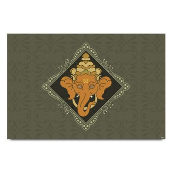 Ganesha Frame Poster